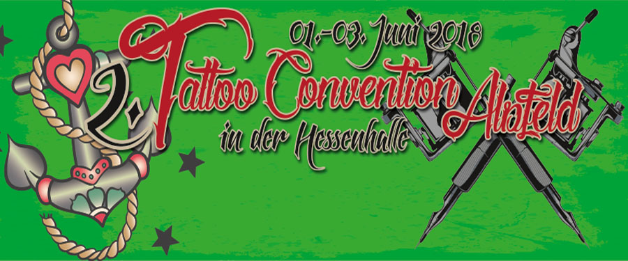 2. TATTOO CONVENTION 2018 | 01. - 03.06.2018